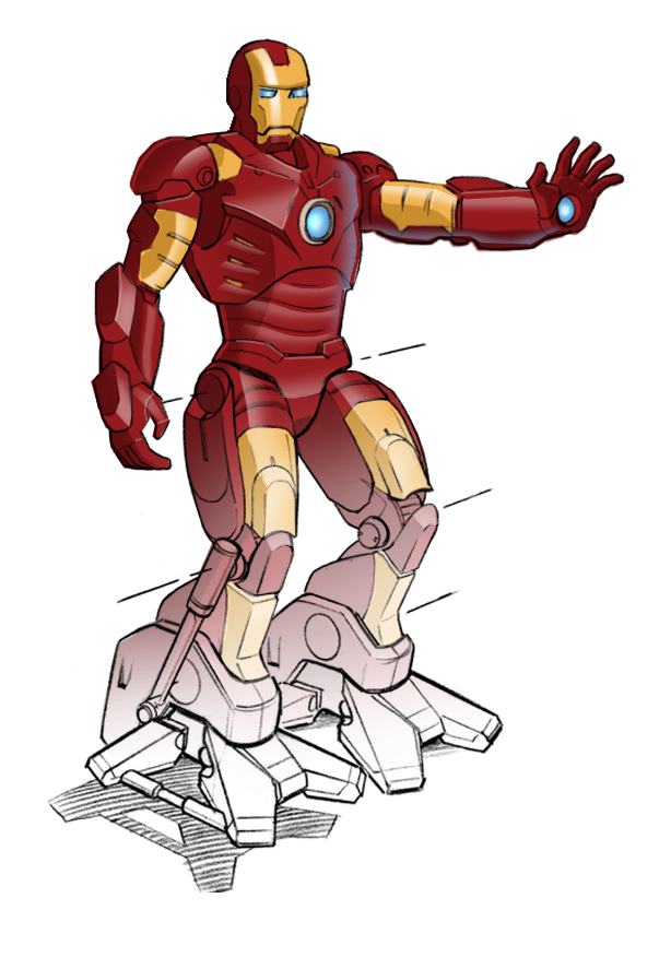 iron man rendering