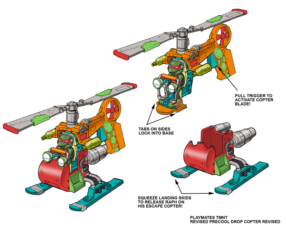 TMNT Helicopter Color1