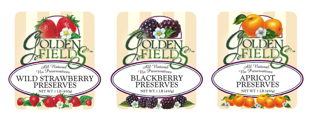 PRESERVES LABELS