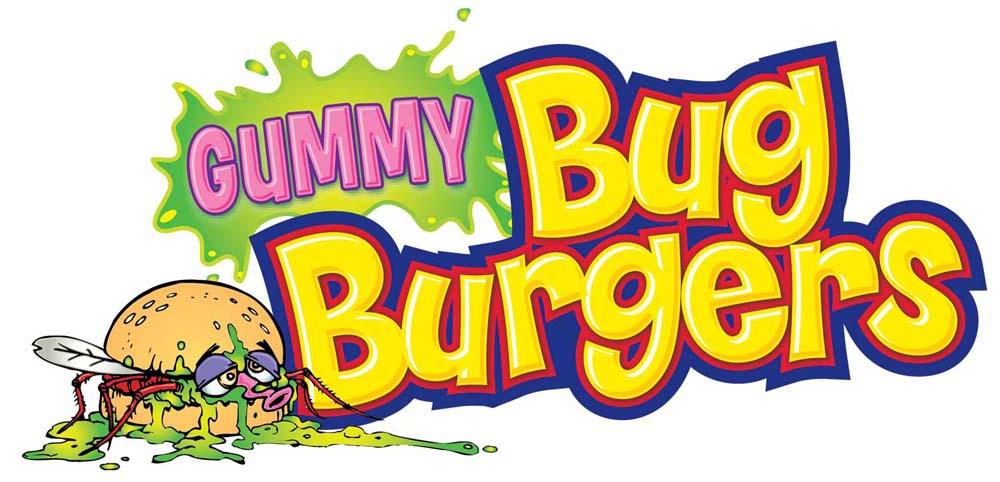 Gummy Bug Burgers